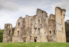 Old Wardour Castle Ruins, England stock photography
