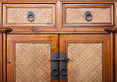 Old wardrope. With medieval look Stock Photo