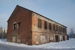 Old warehouse Royalty Free Stock Photo