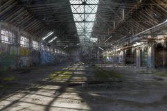 Old warehouse Stock Image