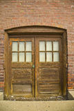 Old Warehouse Basement Entry Royalty Free Stock Photography