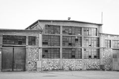 Old Warehouse Stock Image