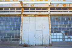 Old warehouse buildings Stock Images