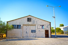 Old warehouse buildings Stock Photo