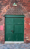 Old Warehouse Door Royalty Free Stock Photography