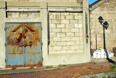 Old warehouse Royalty Free Stock Photo