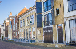 Old warehouse in historical city Harlingen Stock Images