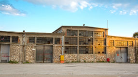 Old Warehouse royalty free stock image