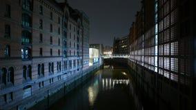 Old Warehouses at Hafencity Hamburg