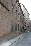 Old Warehouses In Liverpool Stock Photography