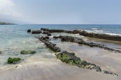 Old Warf at Ho'okena Beach Park Stock Photos