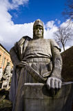 Old warrior statue in Berlin, Germany Royalty Free Stock Photo