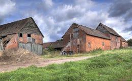 Old Warwickshire farm Royalty Free Stock Photos