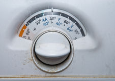 Old washing machine Stock Image