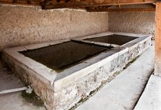 Old washing place Royalty Free Stock Images
