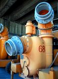 Old Wastewater Equipment Royalty Free Stock Image
