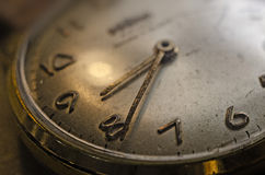 Old Watch. Close-up photography of a old watch Royalty Free Stock Photography
