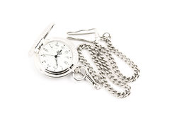 Old watch isolated Stock Images