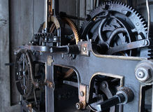Old watch mechanism Stock Image