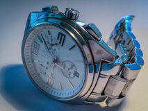 Old watch. Portrait of an old watch that marked important milestones during my life Stock Images