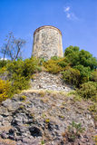 Watch Tower on a Cliff Royalty Free Stock Photo
