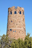 Old Watch Tower at Grand Canyon Stock Images