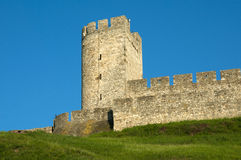 The old watch tower Royalty Free Stock Photos