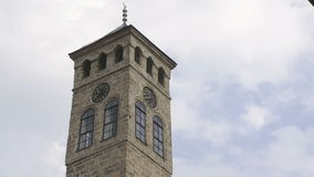 Old watch tower near Gazi Husrev mosque Royalty Free Stock Photography