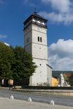 Old watch tower of Roznava Royalty Free Stock Image