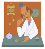 Old Watchmaker Stock Image