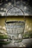 Old water bucket Stock Photo