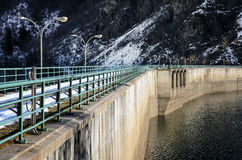 Old water dam Stock Image