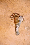 Old water faucet Royalty Free Stock Photos