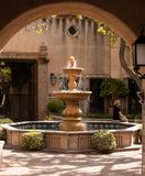 Old Water fountain and beautiful weather royalty free stock image