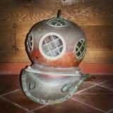 Old Water Helmet Royalty Free Stock Image