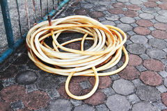 Old water hose Stock Image