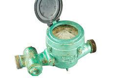 Old water meter Stock Images