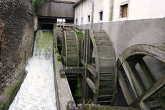 Old water-mill.  stock photography