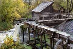 Old water mill Royalty Free Stock Image
