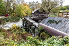 Old water mill Stock Photos