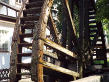 Old water mill. Bad Muenster am Stein, Germany 2014 Royalty Free Stock Images