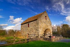 Old water mill in Co. Clare. Ireland Stock Photos
