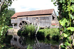 Old water mill in the country Stock Photo
