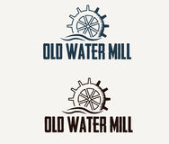 Old water mill. Illustration old water mill art Royalty Free Stock Photography