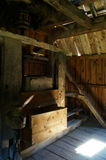 Old water mill - interior Stock Image