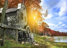 Old water mill Royalty Free Stock Photos