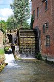 Old water mill, Lower Slaughter. Stock Images