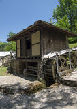 Old water mill. In the mountain Royalty Free Stock Photos