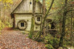 The Old Water Mill Royalty Free Stock Photography