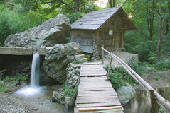 Old water mill - Romania Royalty Free Stock Photography